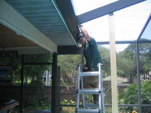 Boyle S Aluminum Screening Pool Cage Screen Enclosures Screen Rooms Seamless Gutters Installation And Repair Serving Tampa Clearwater Dunedin Tarpon Springs Oldsmar Safety Harbor And Surrounding Communities